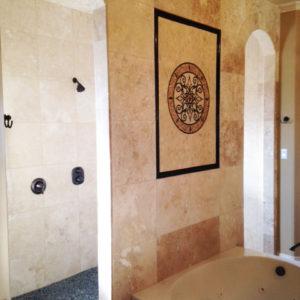 Bath Tile Art