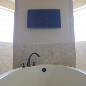 Bathtub TV